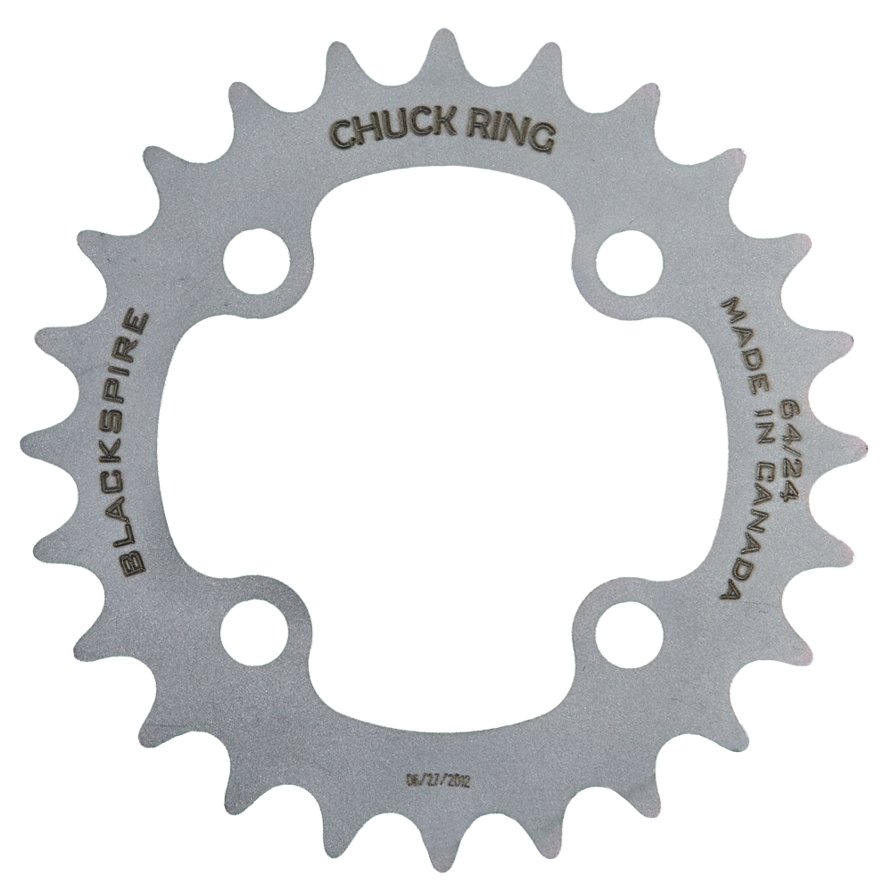Stainless Steel Chuck Chainrings