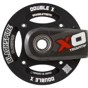 Spline bash rings for TruVativ XO and X9 cranks