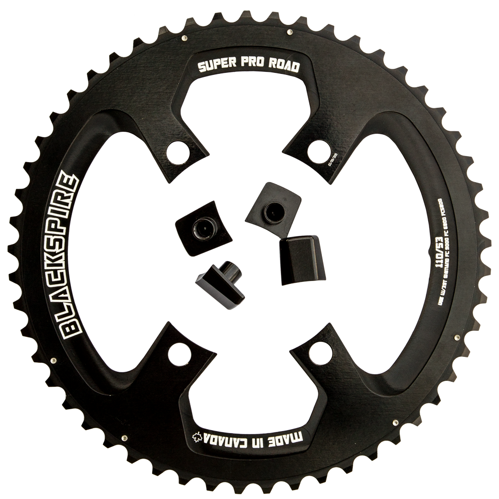 Super Pro Road Series for Shimano 4 bolt 110bcd FC9000 and FC6800