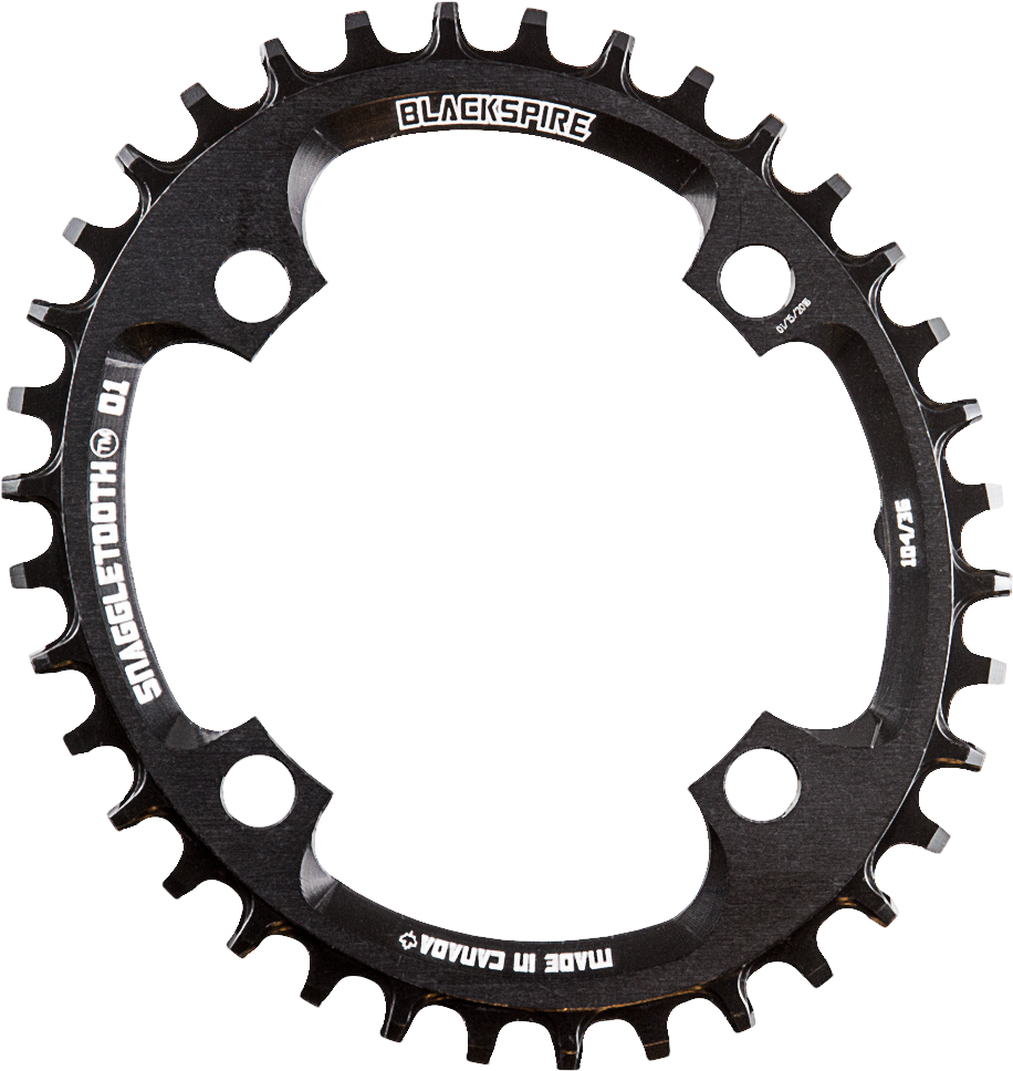 SNAGGLETOOTH O1 OVAL 104BCD Chainrings